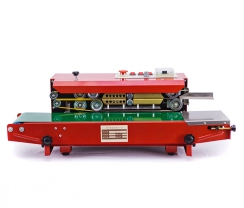 Red horizontal continuous sealer