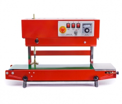 Red vertical continuous sealer