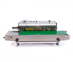 Stainless steel horizontal continuous sealer