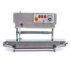 Stainless steel vertical continuous sealer