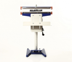 450 type double side (blue) foot seal machine PFS450D