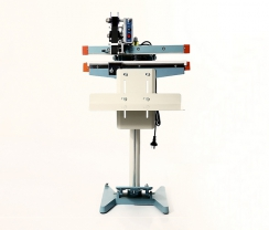 450 type single side (band code) foot seal machine PFS450DP